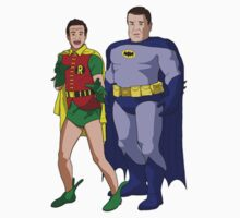 Goodman and Robin Sticker by Eddie Mauldin