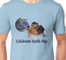 Celebrate Earth Day Sheltie Puppy Unisex T-Shirt