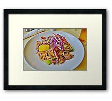 Pad Thai Framed Print