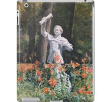 Turcan's The Student Among Lilies iPad Case/Skin