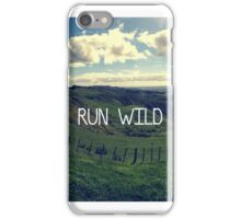 Run Wild iPhone Case/Skin