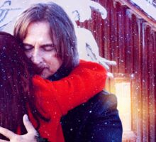 A Rumbelle Christmas Moment Sticker