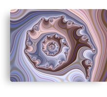 Purple Fractal Canvas Print