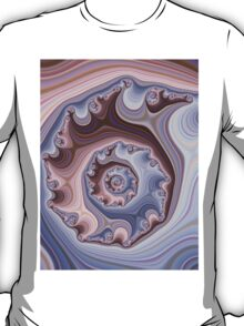 Purple Fractal T-Shirt