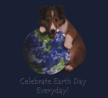 Celebrate Earth Day Everyday Sheltie Kids Clothes
