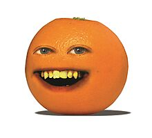The Annoying Orange! Photographic Print