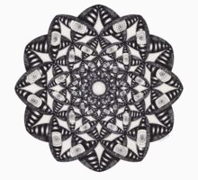 Fly Away With Me Mandala by TheMandalaLady