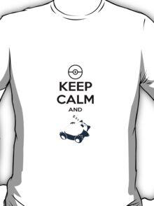 Keep Calm and Snorlax T-Shirt