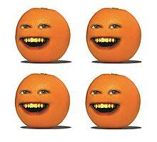 Four Annoying Oranges Photographic Print