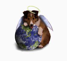 Earth Day Angel Sheltie Unisex T-Shirt