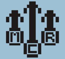 8Bit MCR Logo (Black) Kids Clothes