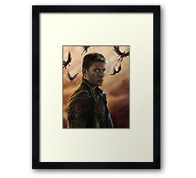The Righteous Man Framed Print