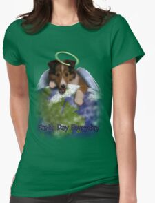 Earth Day Everyday Angel Sheltie Puppy T-Shirt