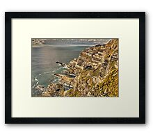 Cliffs, Ring of Kerry Framed Print