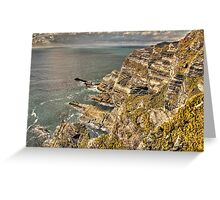 Cliffs, Ring of Kerry Greeting Card