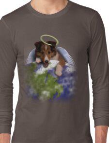 Earth Day Angel Sheltie Long Sleeve T-Shirt