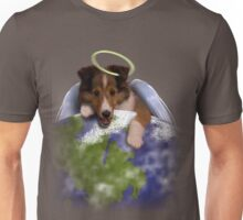 Earth Day Angel Sheltie Unisex T-Shirt