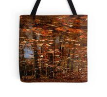 Wither'd Leaves That Fly Before The Gale Tote Bag