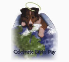 Celebrate Earth Day Angel Sheltie by jkartlife