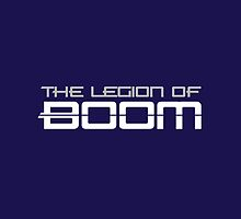 The Legion of Boom Ipad Case by 17blackstudio