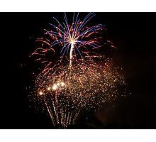 Bunnings fireworks Photographic Print