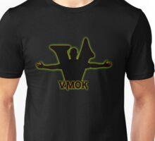 Arms Wide Open W/ Initials V logo Unisex T-Shirt