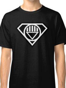 Black Lantern Superman insignia Classic T-Shirt