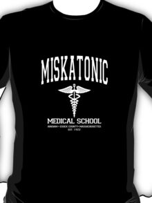 Miskatonic Medical School White T-Shirt