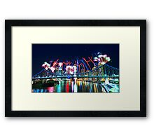 Riverfire Framed Print