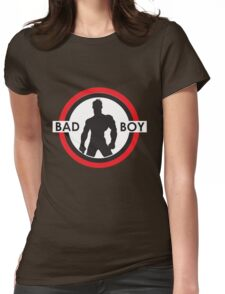 Bad Boy Silohuette Red Womens Fitted T-Shirt