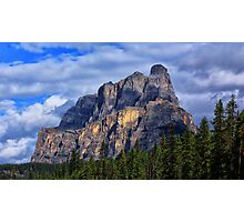 Castle Mountain 2 Photographic Print
