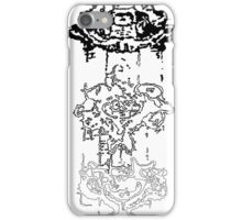 LINEart T-shirt : Three Layers iPhone Case/Skin