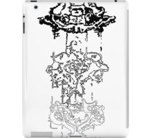 LINEart T-shirt : Three Layers iPad Case/Skin