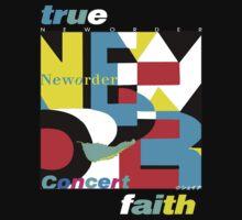 New Order 1987-88 Tour Design by Shaina Karasik