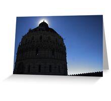 Pisa Baptistery Greeting Card