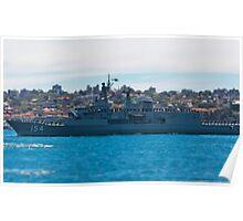 HMAS Parramatta Poster