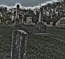 Haunted Cemetery by Drew Robinson