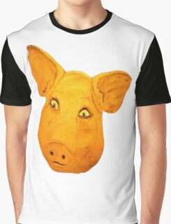 Pigs Head.......... Graphic T-Shirt