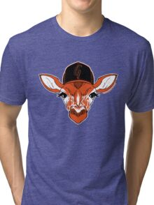Belt Giraffe (2013 Edition) Tri-blend T-Shirt