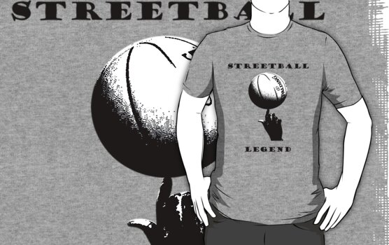 Streetball Legend by samohtbackwards