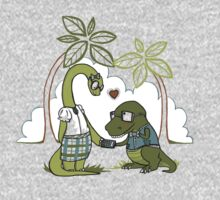 DiNERDsaur Love Kids Tee