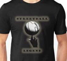 Streetball Legend - outline Unisex T-Shirt