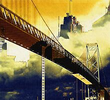 Ambassador Bridge by Elisabeth and Barry King™ by BE2gether