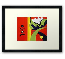 Playing in the Park Framed Print