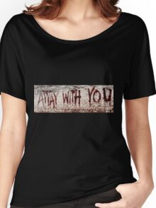 Walking Dead - Away With You Women's Relaxed Fit T-Shirt