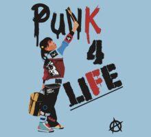"""Punk 4 Life"" Kids Clothes"