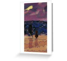 Saturday Seaside Greeting Card