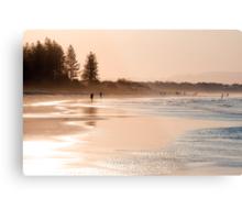 Shimmering sands - Byron sunset Metal Print