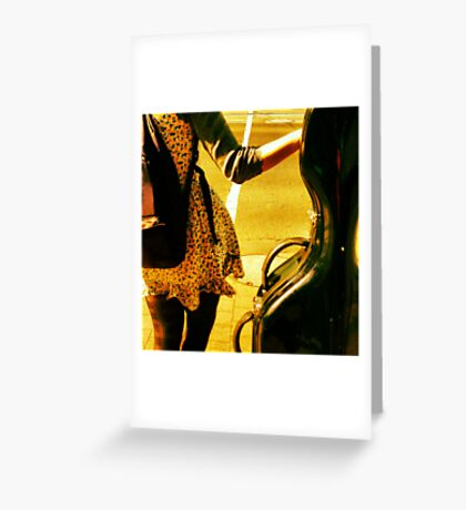 A Girls Best Friend is Her Cello Greeting Card