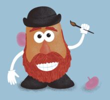 Van Gogh Potato One Piece - Short Sleeve